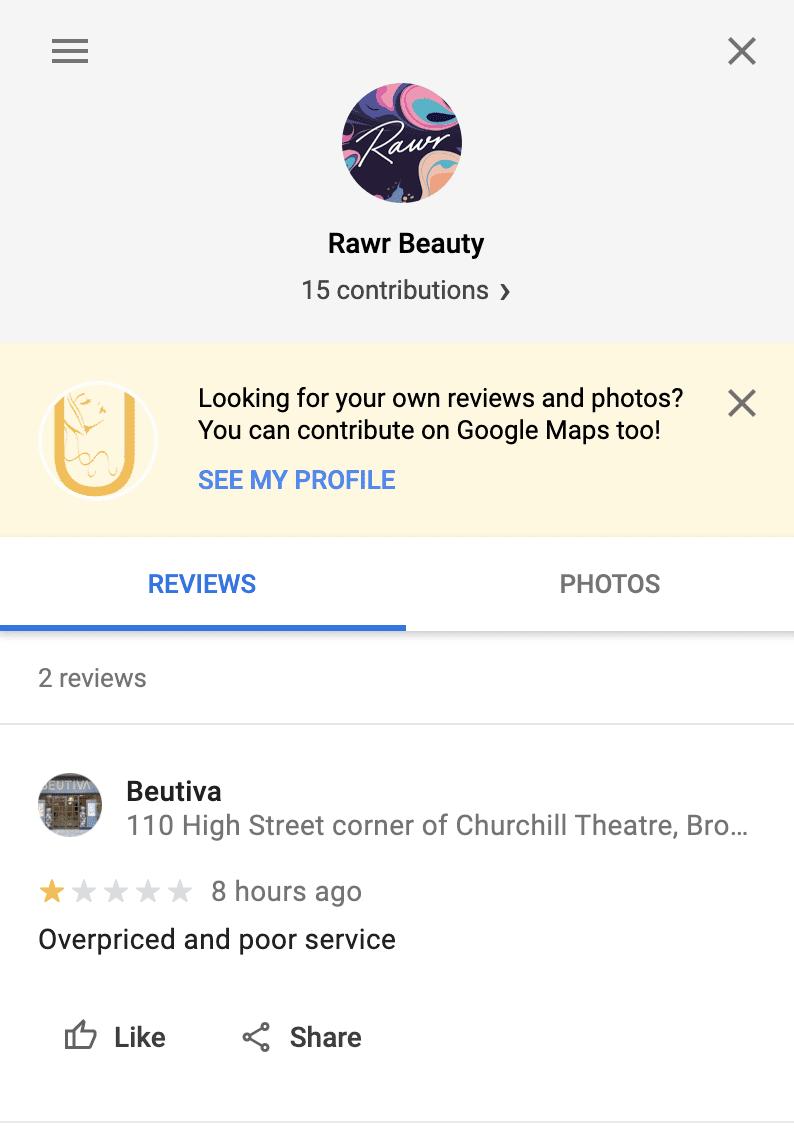 Rawr Fake Review of BEUTIVA